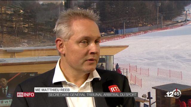 JO d'hiver 2018: la délégation russe ne comprendra donc que 168 sportifs [RTS]