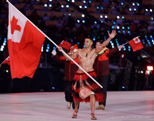 Taufatofua avait déjà participé aux Jeux de Rio en 2016 en taekwondo. [Petr David Josek - Keystone]