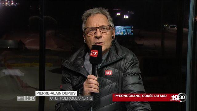 Cérémonie d'ouverture des JO de Pyeongchang: les précisions de Pierre-Alain Dupuis [RTS]