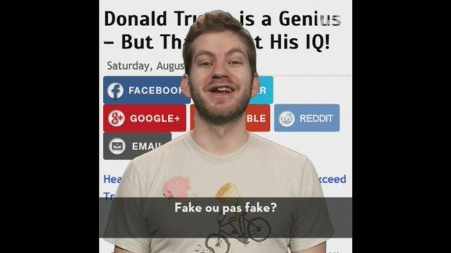 What the Fake: le QI de Donald Trump [RTS]