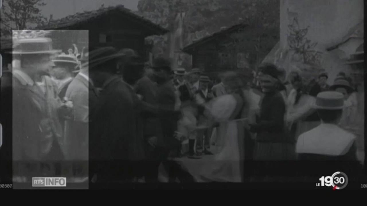 Ferdinand Hodler: images rares centenaires [RTS]