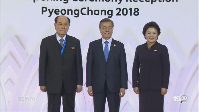 Deux Corées: trêve olympique [RTS]