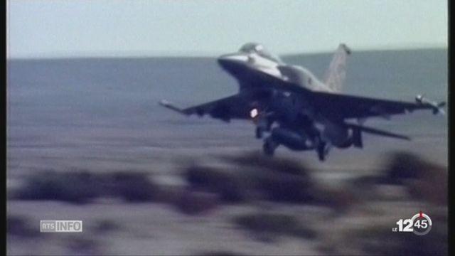 Israël combat le Hezbollah en Syrie [RTS]