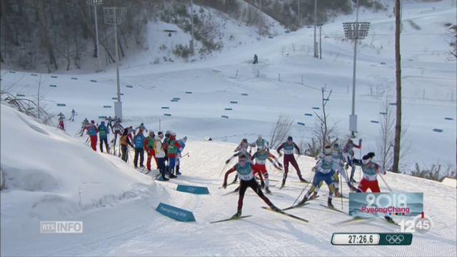 JO de Pyeongchang - Skiathlon: Nathalie von Siebenthal termine 6ème [RTS]