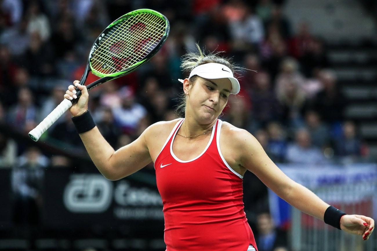 La Suisse est menée 2-0 à Prague — Tennis Fed Cup