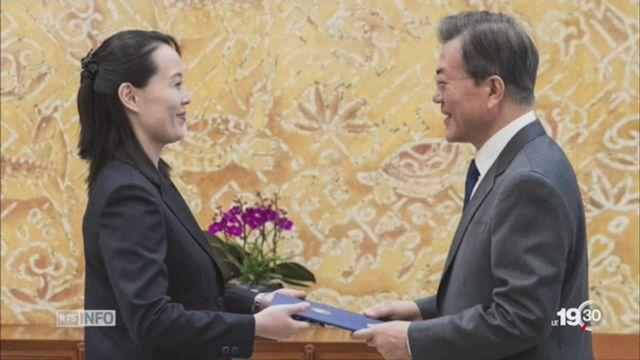 JO: la Corée du Nord invite officiellement le Sud à un sommet [RTS]