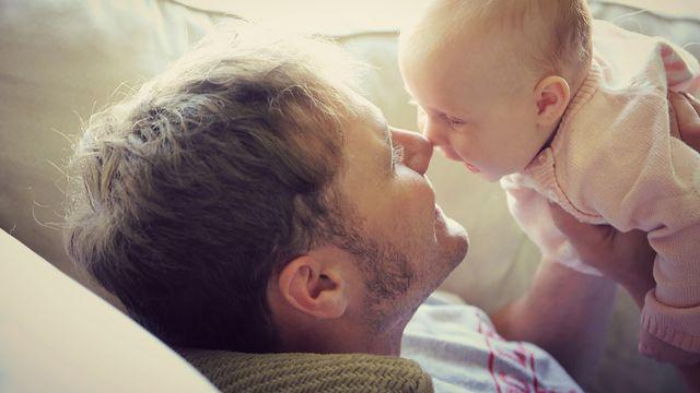 L'âge du père peut influencer la santé psychique des enfants. Christin Lola Fotolia [Christin Lola - Fotolia]