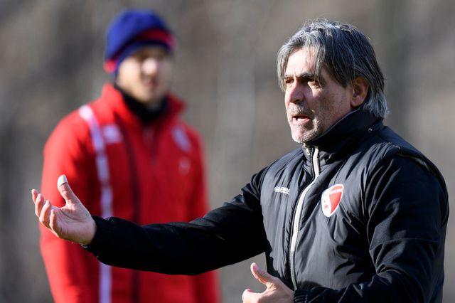 Maurizio Jacobacci est chargé de remettre le FC Sion sur les rails du succès. [Laurent Gilliéron - Keystone]