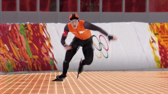 Présentation du patinage de vitesse [RTS]