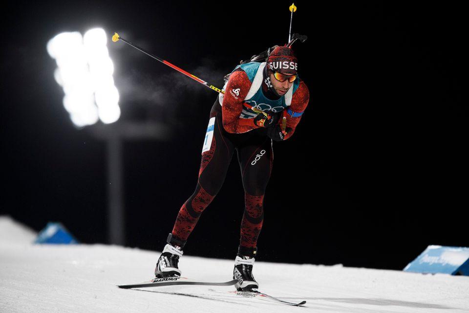 Serafin Wiestner a sauvé les apparences helvétiques lors du sprint. [Gian Ehrenzeller - Keystone]
