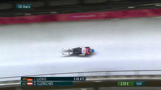 Luge, messieurs: David Gleirscher (AUT) est le nouveau champion Olympique [RTS]