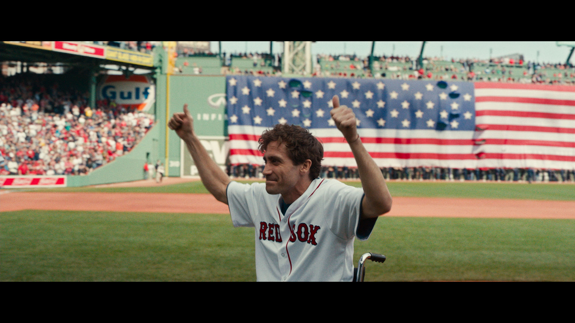 "Jake Gyllenhaal dans ""Stronger"" de David Gordon Green."