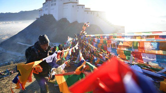 Le Tibet est une région cruciale pour l'économie de la Chine. [Jigme Dorge - XINHUA/AFP]