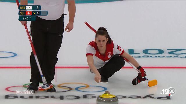 JO - Curling mixte: l'équipe de Suisse se qualifie pour la finale [RTS]