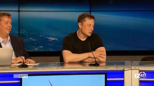 La Falcon Heavy de SpaceX, a entamé cette nuit sa première mission [RTS]