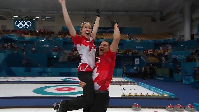 Finale double mixte, CAN - SUI (10-3): la Suisse abandonne et s'empare de la médaille d'argent [RTS]