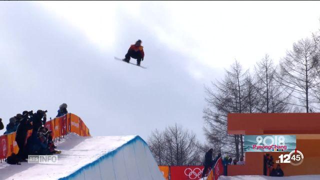 Le snowboarder Pat Burgener vit ses premiers JO [RTS]