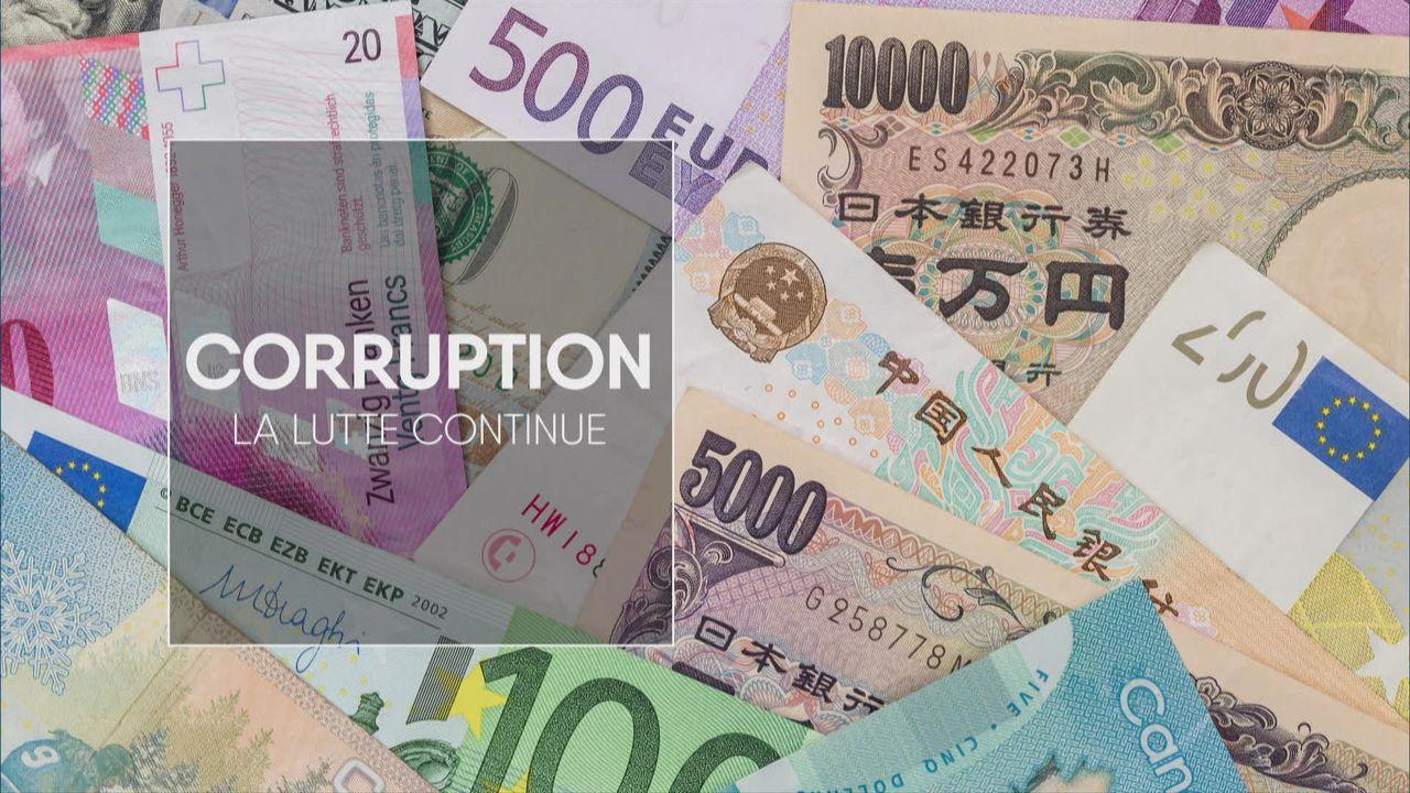Corruption, la lutte continue [RTS]