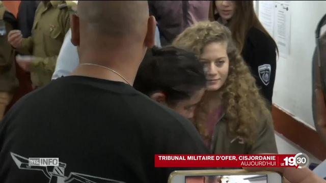 Une adolescente palestinienne devient une héroïne pour son pays [RTS]