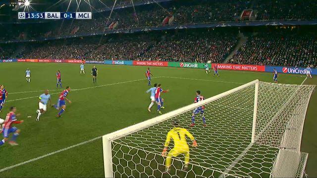 1-8e de finale, FC Bâle – Manchester City (0-1): 14e Gündogan [RTS]