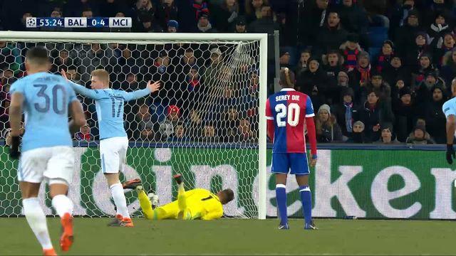 1-8e de finale, FC Bâle – Manchester City (0-4): 53e Gündogan [RTS]