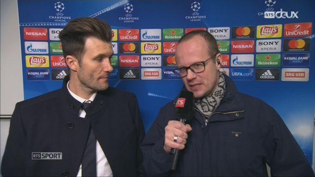 1-8e de finale, FC Bâle – Manchester City (0-4): Raphaël Wicky au micro de RTSsport après le match [RTS]