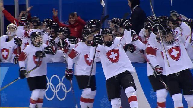 Dames, SWE-SUI (1-2): la Suisse s'impose face à la Suède [RTS]