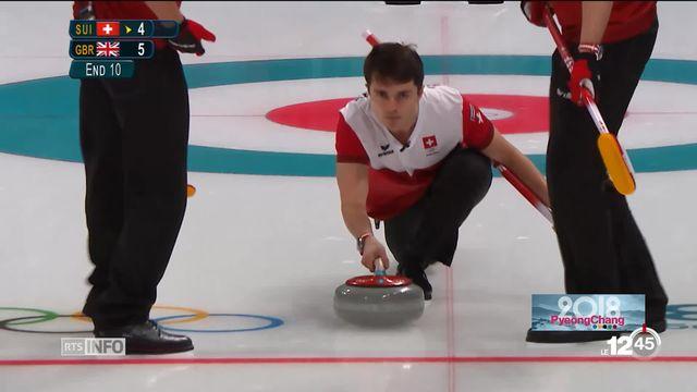 JO - Curling: les Suisses manquent malheureusement leur début [RTS]