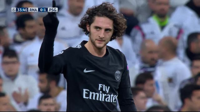1-8e de finale, Real Madrid – Paris Saint-Germain (0-1): 33e Rabiot [RTS]