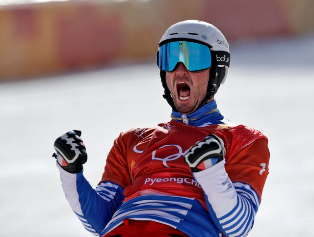 Vaultier conserve son titre olympique. [Gregory Bull - Keystone]