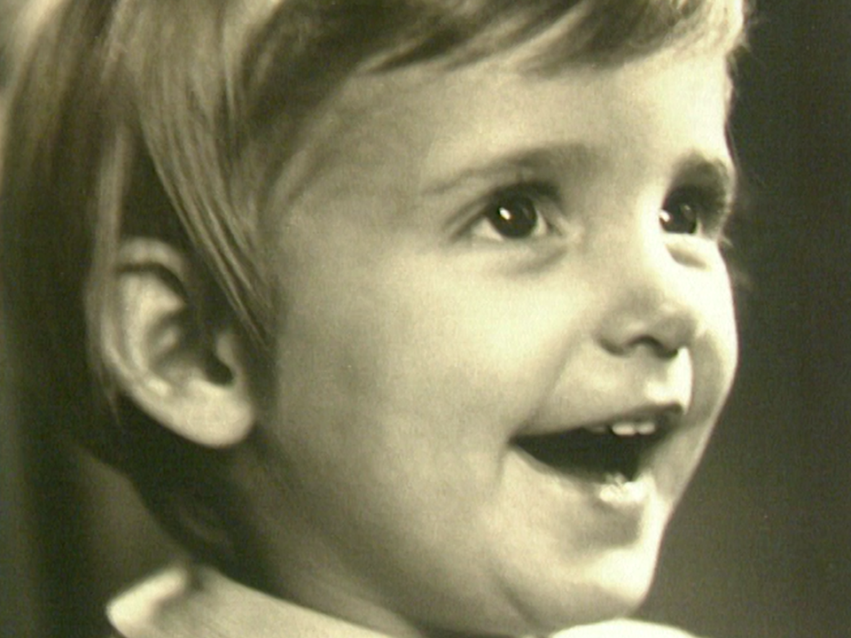 Claude-Inga Barbey enfant. [RTS]
