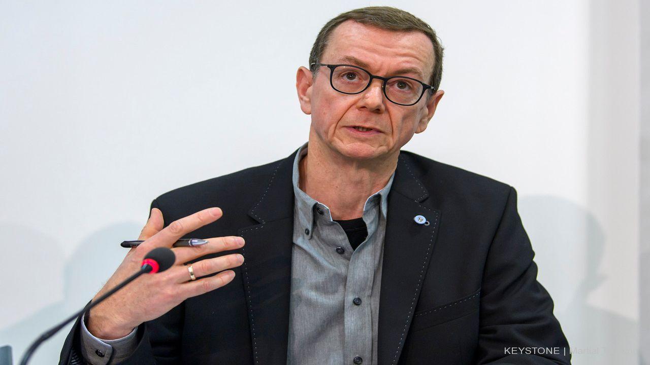 Fabian Lucchi, fondateur et directeur d'IT-Awareness, co-fondateur d'Infomaniak. [Martial Trezzini - Keystone]