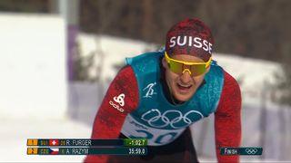 Hommes, 15 km libre : Roman Furger (SUI) [RTS]