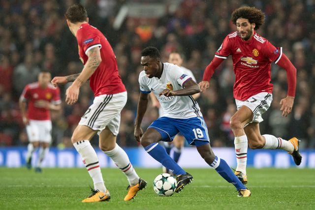 Ligue des Champions UEFA Manchester City - FC Bâle 1/8 de finale aller [Anthony Anex - Keystone]