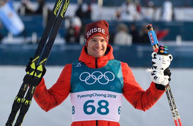 Super Dario remporte sa 4e médaille d'or olympique. [Filip Singer - Keystone]