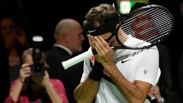 Federer a ajouté un nouveau chapitre à sa légende. [John Thys - AFP]