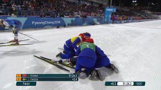 Relais 4x5km, finale dames: victoire de la Norvège, la Suisse 7e [RTS]
