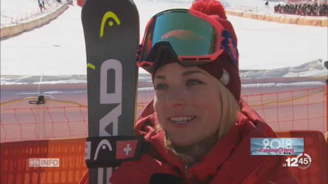 JO d'hiver 2018-Super G Dames: Lara Gut 4e [RTS]