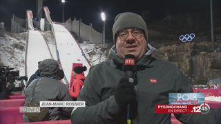 JO d'hiver-Saut à ski: le point avec Jean-Marc Rossier [RTS]