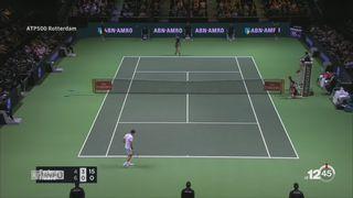 Tennis: Federer à nouveau numéro 1 mondial [RTS]
