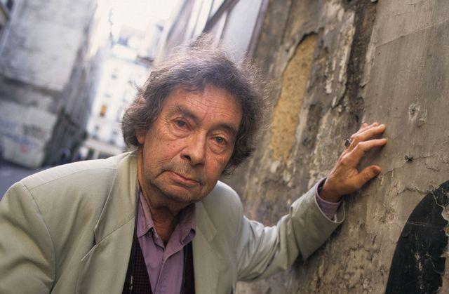 L'écrivain Nicolas Bouvier en 1996. [Jean-Pierre Couderc - afp]