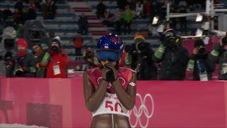 Finale hommes, 2e saut: Kamil Stoch (POL) médaille d'or! [RTS]