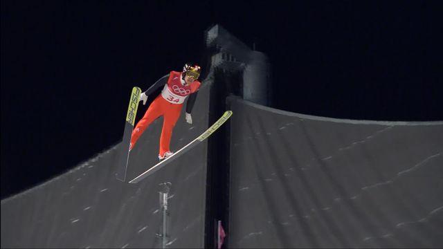Finale hommes, 2e saut: Simon Ammann (SUI) 13e [RTS]