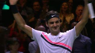 Victoire de Federer (6-3, 7-6) [RTS]