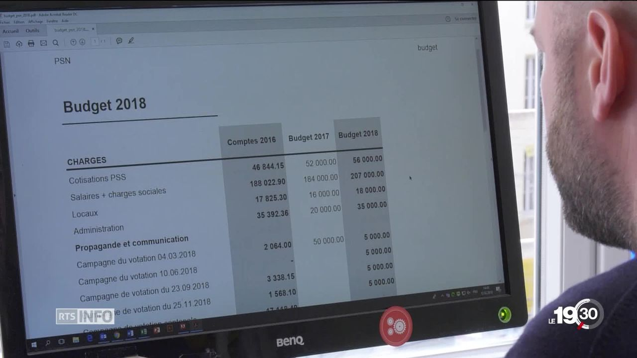 Financement des partis à Fribourg: transparence exigée [RTS]