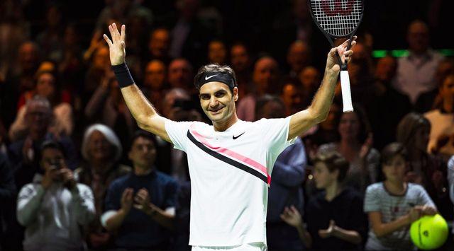 Roger Federer s'est facilement qualifié pour la finale de Rotterdam. [Koen Suyk - Keystone]