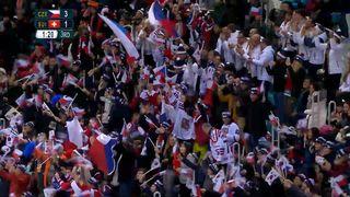Hommes, CZE-SUI (3-1): Cervenka marque le 3e but dans la cage vide [RTS]