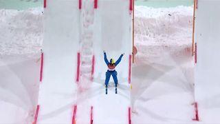 Aerials hommes finale, 3e manche: l'Ukrainien Oleksandr Abramenko est champion olympique ! [RTS]