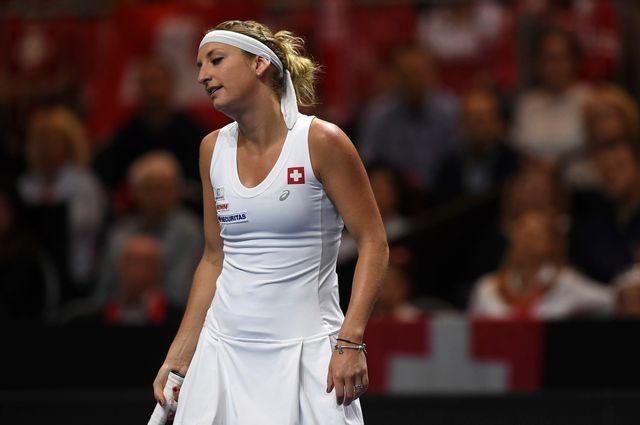 """Timi"" a disputé la Fed Cup avec la Suisse. [Melanie Duchene - Keystone]"