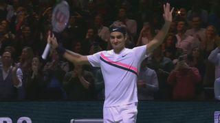 Finale, R. Federer (SUI) bat G. Dimitrov (BUL) 6-2, 6-2: les meilleurs moments du match [RTS]